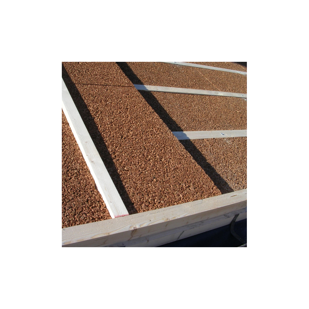 Cork Sheets And Panels For Thermal Insulation Roofing Coats