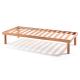 HAGI BEDS WITH HEADBOARD AND BASE WITH FLEXIBLE DUTIES 90 CM