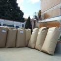 Granulated natural cork - n.21 sacks - mc 2,625 cubic meters