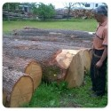 Parquet italiano tablón madera maciza de roble natural