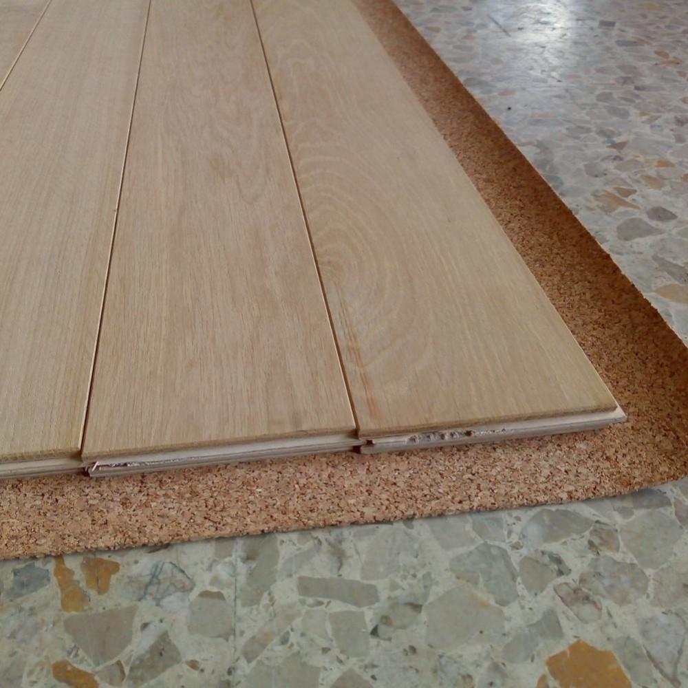 Rotolo sughero isolante supercompresso spessore 2 3 6 10mm