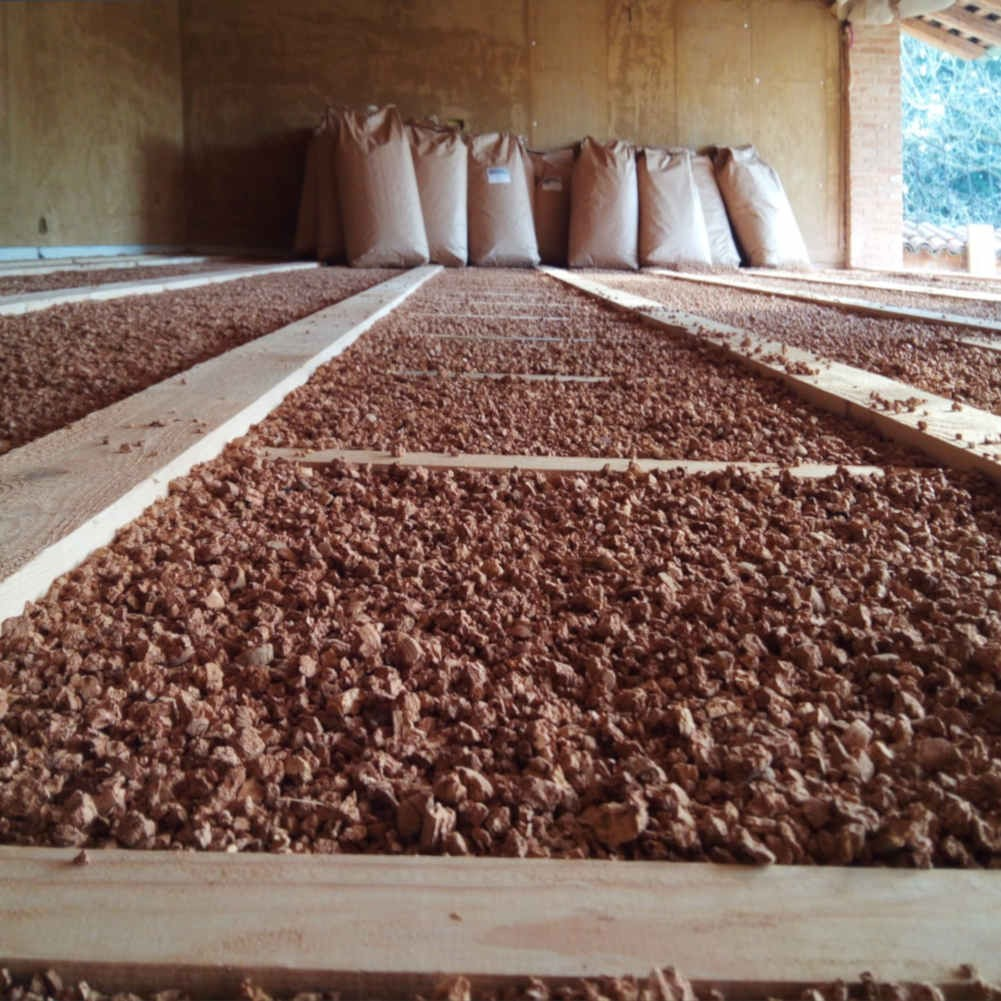 Impianto A Pavimento A Secco sottofondo a secco isolante per inchiodare pavimento in legno