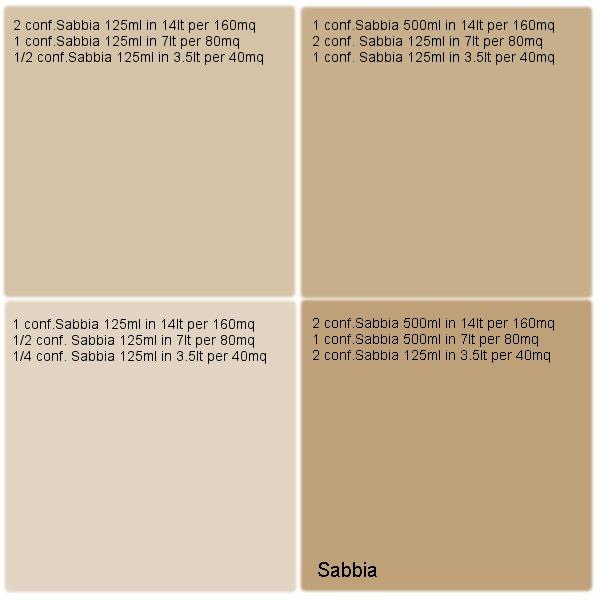 Sabbia per Pittura Traspirante Vegancolor