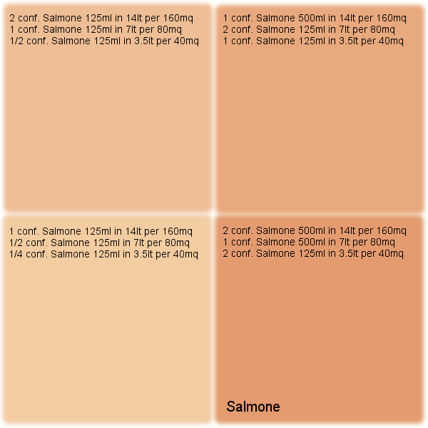 Salmone per pittura traspirante vegancolor